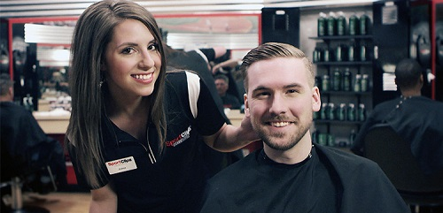 Sport Clips Haircuts of Happy Valley & 67th​ stylist hair cut